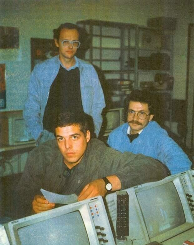 Дмитрий Захаров, Александр Любимов, Владислав Листьев