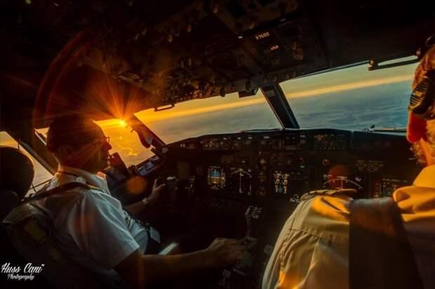 fromcockpit04 25 фотографий, сделанных пилотами из кабин самолетов