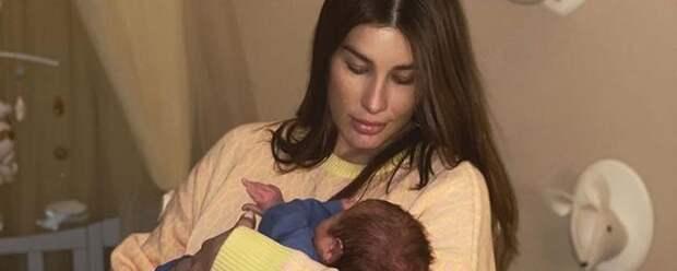 Кети Топурия показала 3-месячного сына