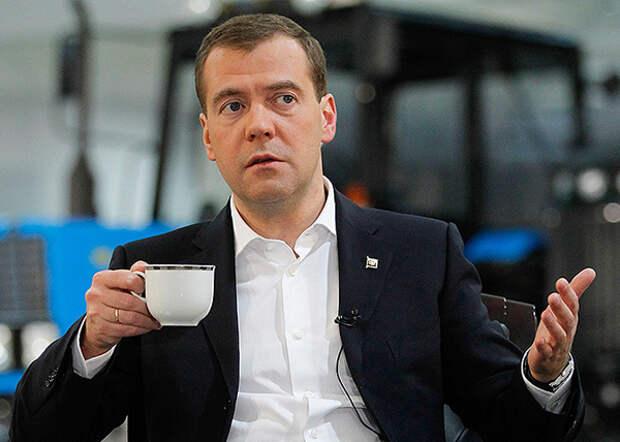 Дмитрий Медведев, кофе(2016) Фото: ИТАР-ТАСС/ Дмитрий Астахов