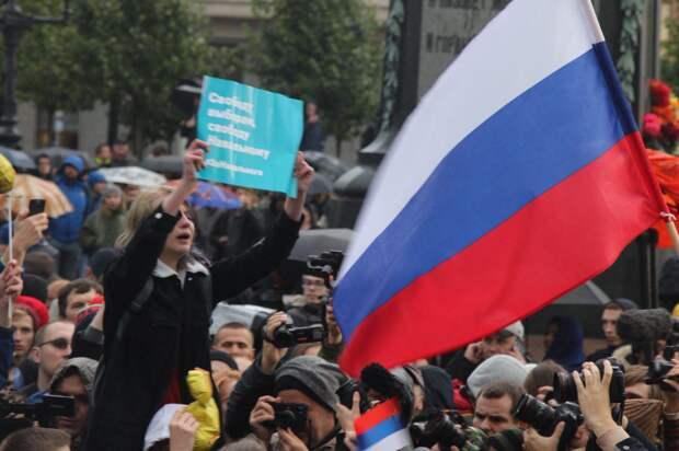 Школота Навального вышла из-под контроля в Москве