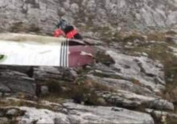 Самолет разбился в Испании
