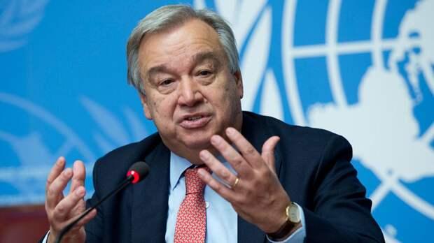 Генсек ООН предупредил о катастрофических последствиях обострения кризиса в секторе Газа