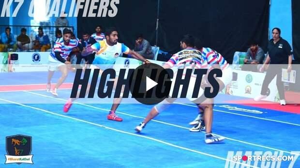 Highlights: Warriors Arena vs Shahid Bhagat Singh | K7 Qualifiers | Pool B