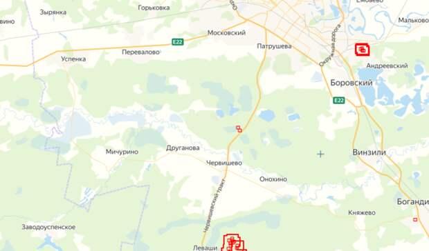 Тюменцы сообщают о лесном пожаре в районе Червишевского тракта