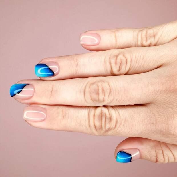Акцент на кончиках ногтей: 25 идей ненавязчивой элегантности