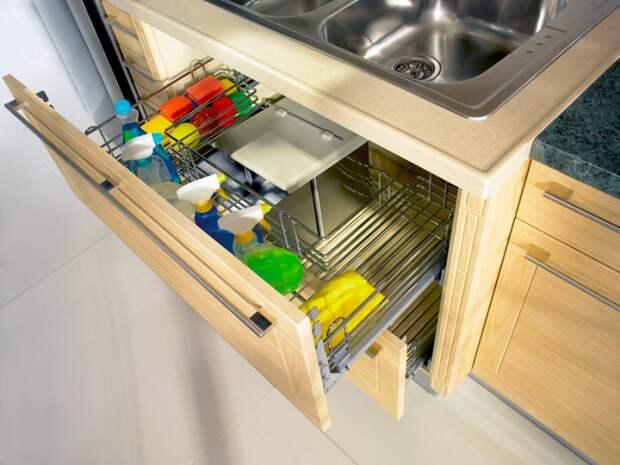 Инвентарь для уборки должен храниться в доступном месте. / Фото: livejournal.com