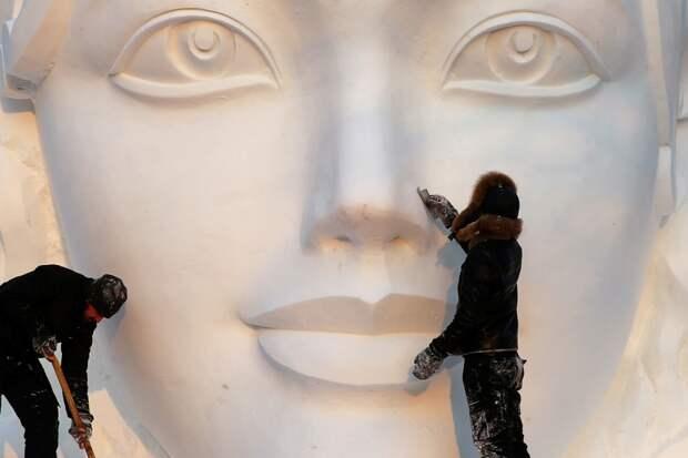Снежные скульптуре