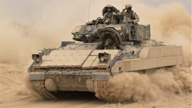 США безуспешно пытаются найти замену устаревшим БМП M2 Bradley