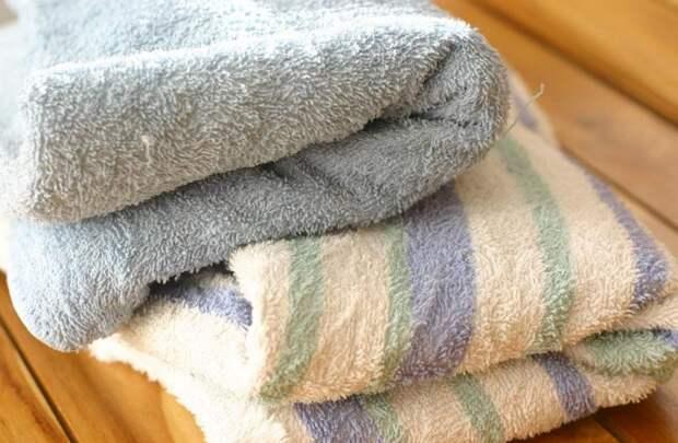 Вернуть былую мягкость старым полотенцам - реально / Фото: nastroy.net