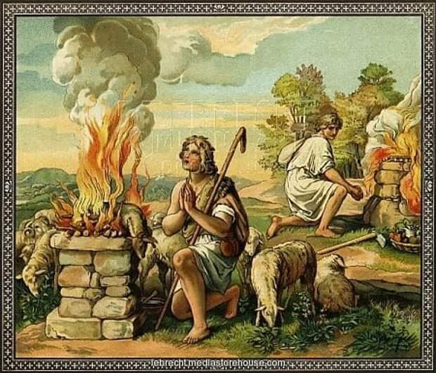 Почему Каин убил Авеля?