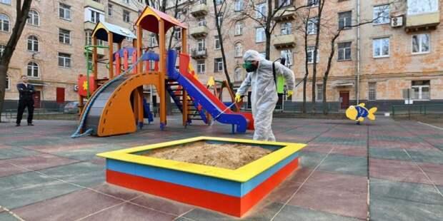 Собянин рассказал о проведении регулярной дезинфекции Москвы Фото: mos.ru