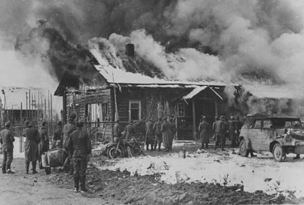 Хатынь и другие населенные пункты СССР, которые немцы полностью уничтожили