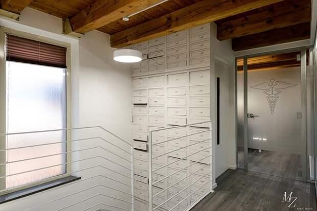 Аптека Dr. Mummolo. Проект: Waama Srl Udine e Arch. Michele Zaggia. Обои Wall&Deco