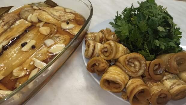 Невероятно вкусные МАРИНОВАННЫЕ БАКЛАЖАНЫ. Закуска из баклажанов