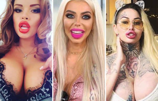 Все ли девушки мечтают о пухлых чувственных губах