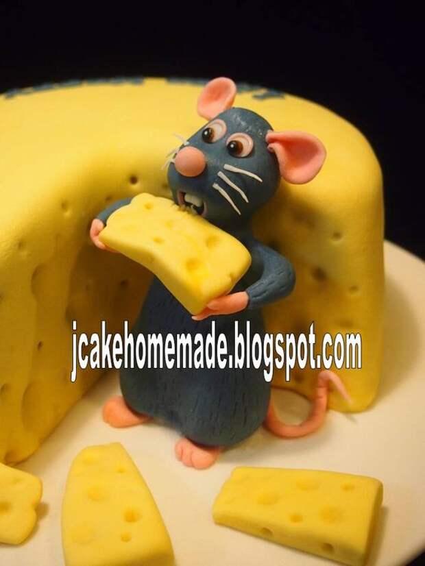 jcake@homemade: Ratatouille birthday cake