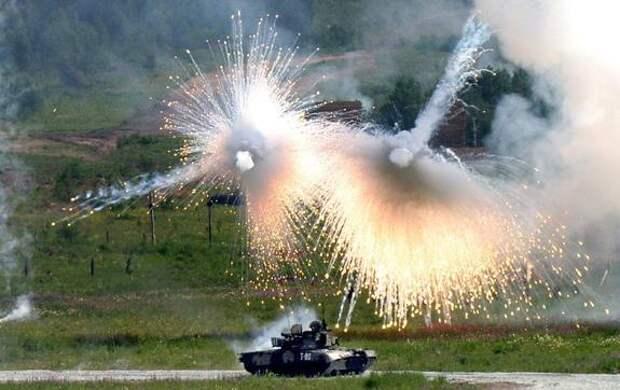 Россия совершенствует активную защиту танков, что значительно повышает их живучесть на поле боя