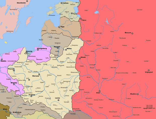 100 лет Рижского пакта: К годовщине ликвидации «независимой Украины»
