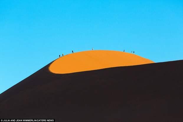 Дюны в Намибии