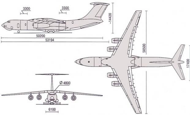 Ил 476 — новая жизнь самого известного транспортного самолета