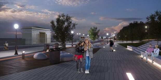 Парк Северного речного вокзала вернет свой исторический облик