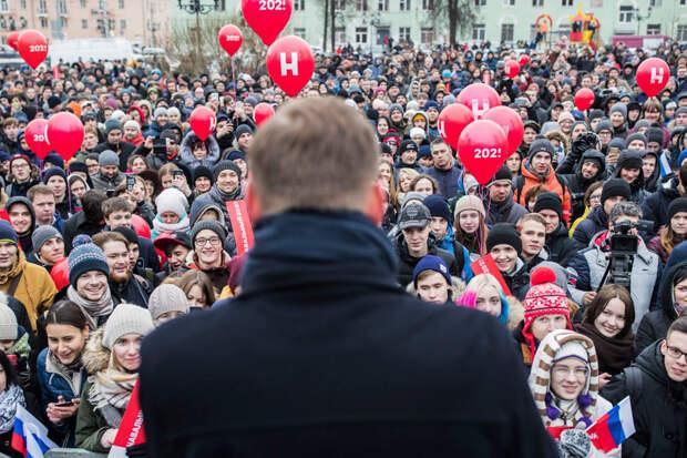 О триумфальном возвращении Навального