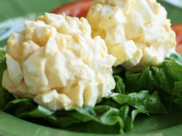 салат из яйца