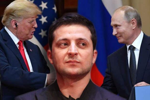 СМИ: Трамп будет разговаривать с Зеленским только после встречи с Путиным