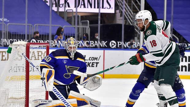 Передачи Барбашёва и Костина помогли «Сент-Луису» разгромить «Миннесоту» в матче НХЛ