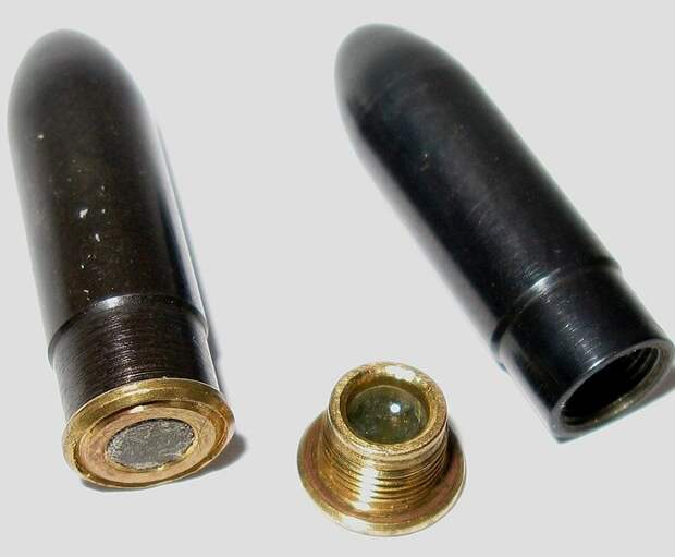 Безгильзовые патроны Герасименко. /Фото: wikipedia.org