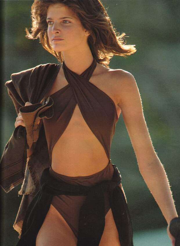 Стефани Сеймур в 1990 году.