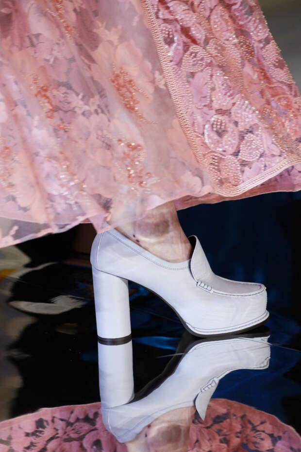 Модная обувь на осень-зиму 2018-2019 - обувь с круглым каблуком