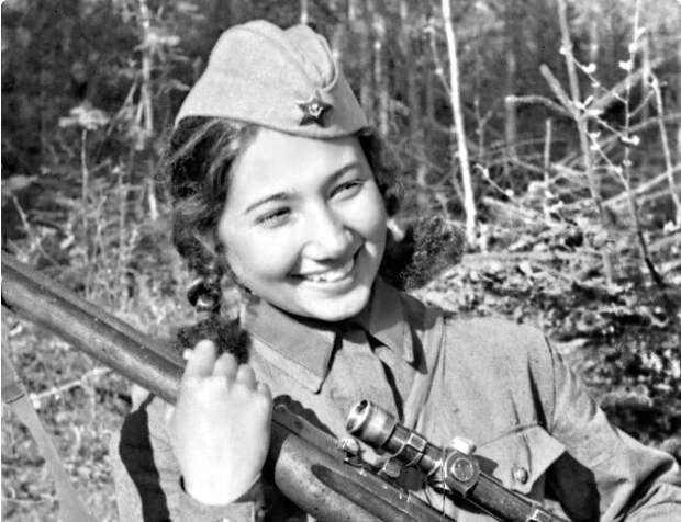Зиба Ганиева: как воевала советская актриса, ставшая снайпером
