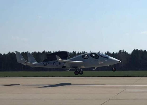 Поляки испытают серийную версию очень легкого реактивного самолета