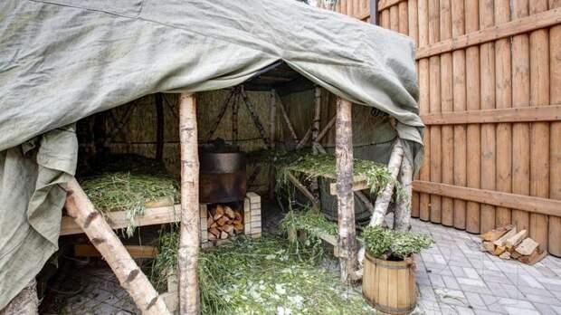 9. Сакские бани баня, березовый веник, необычные бани, сауна, фото