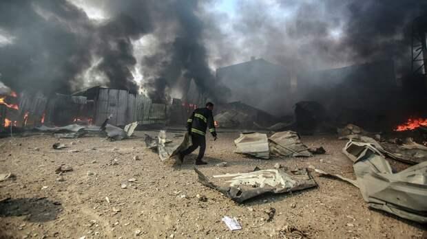 Израиль нанес удары по девяти ракетным установкам в секторе Газа