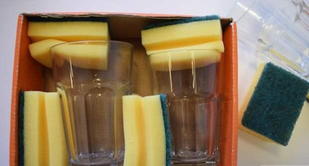 Губка также может выступить в роли подложки для хрупких предметов. /Фото: ins.dkn.tv