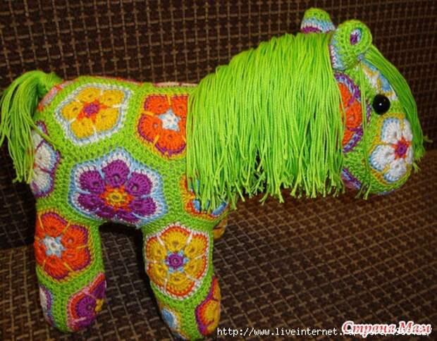Вяжем цветного Пони
