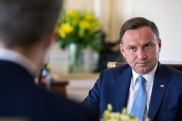 Польский президент Дуда решил «выставить счет» Германии за Вторую мировую войну