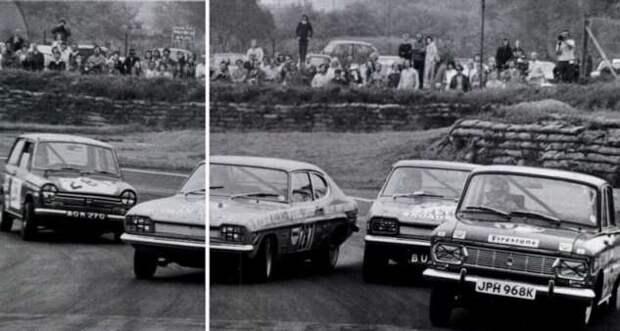 Как обычный Москвич смог «обогнать» BMW и Ford. Пожалуй один из самых крутых трюков в автоспорте (6 фото)