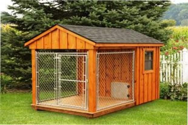 Домашние вольеры для собак: их назначение, особенности и достоинства