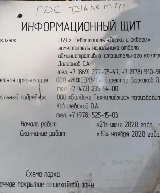 «Севастопольские мамы» против позорной реконструкции Комсомольского парка