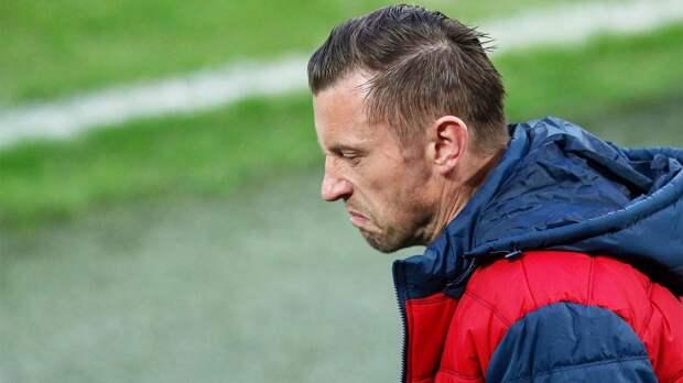Олич: «Недоволен тем, как ЦСКА вышел на 2-й тайм, «Динамо» показало больше желания»