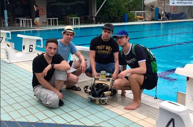 Российский робот победил на чемпионате в Сигапуре