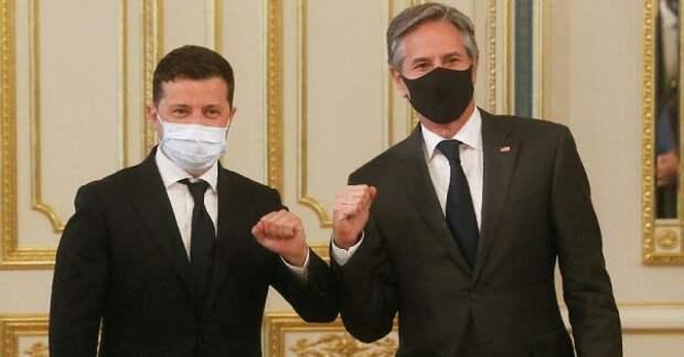 После встречи сЗеленским Блинкен заявил, что Байден вКиев неприедет