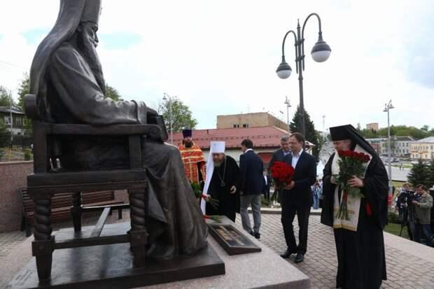 В Волоколамске открыли памятник митрополиту Питириму