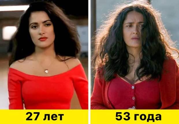 """1. Сальма Хайек - """"Гонщики"""" (1994) и """"Неизбранные дороги"""" (2020)"""