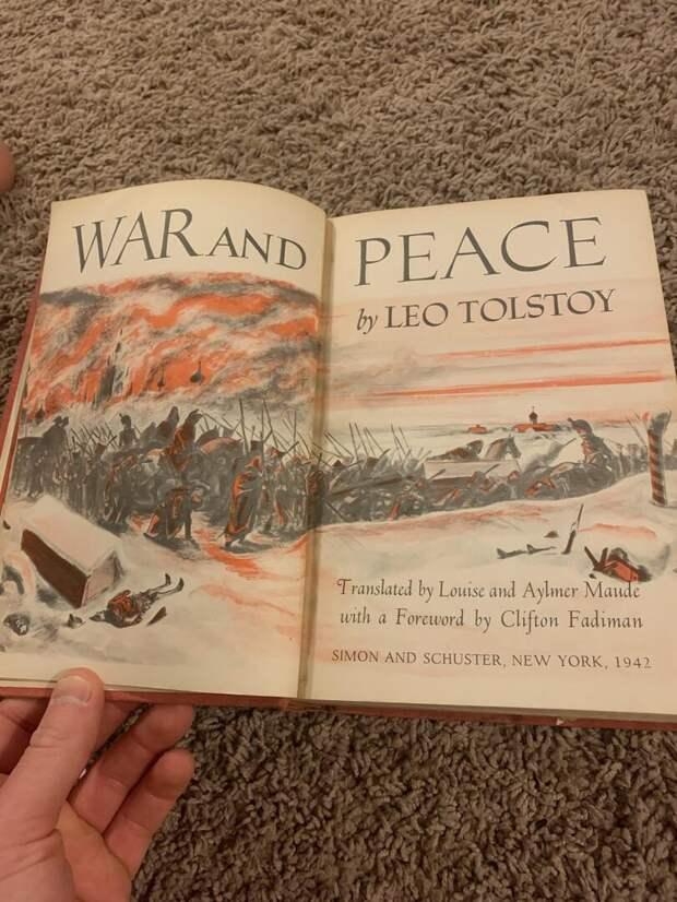 Издание 1942 года Войны и мира