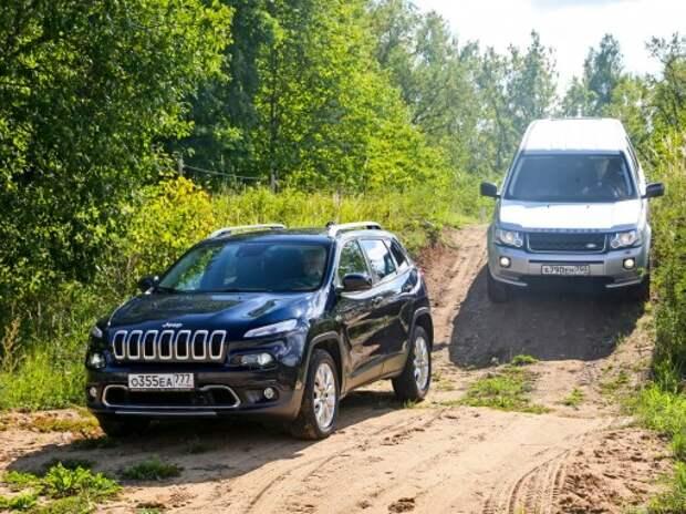 Jeep Cherokee и Land Rover Freelander: террейнозавры Дикого Запада